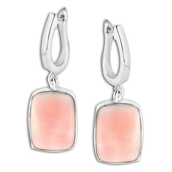 347408-Pink Opal Earrings
