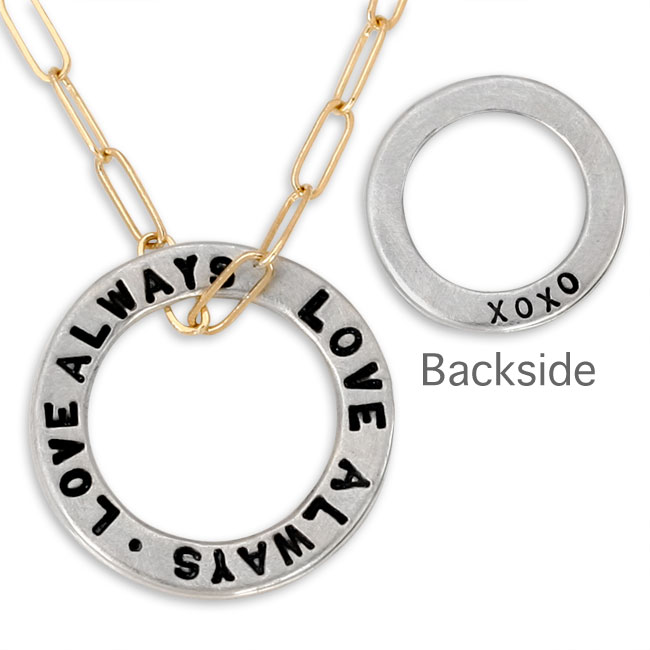 338486-Heather Moore Jewelry Love Always Open Circle Charm