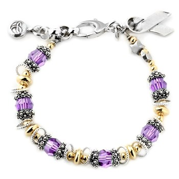 Pancreatic/Testicular Cancer Awareness Bracelet-179348