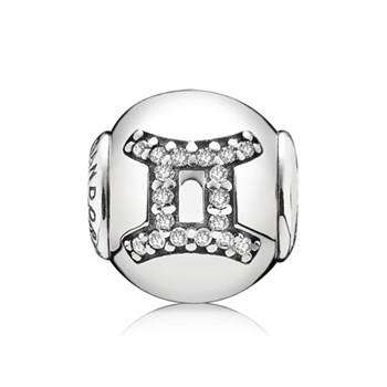 346729-PANDORA ESSENCE Collection GEMINI Charm RETIRED LIMITED QUANTITIES!