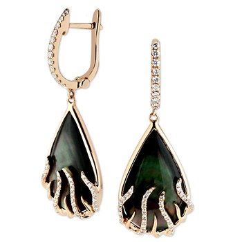 Black Luna Earrings-344140
