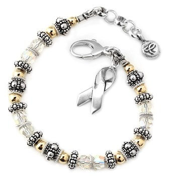 217095-Lung Cancer Awareness Bracelet - Spectacular