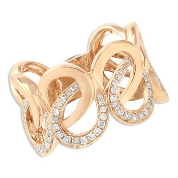 Interloop Diamond Ring-348315