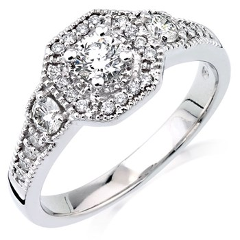 Elena Diamond Ring-345527