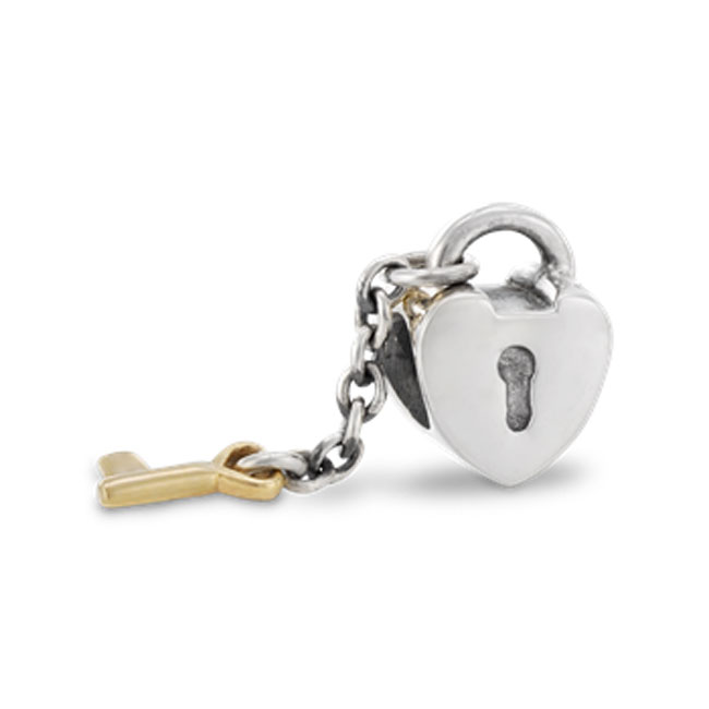 188494-PANDORA Key to My Heart with 14K Key Charm