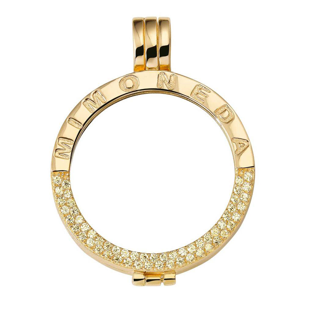 Mi Moneda Gold-Plated Pendant Deluxe ONLY 5 LEFT!