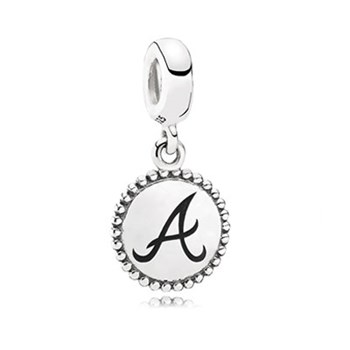 PANDORA Atlanta Braves Baseball Charm RETIRED LIMITED QUANTITIES!-345445