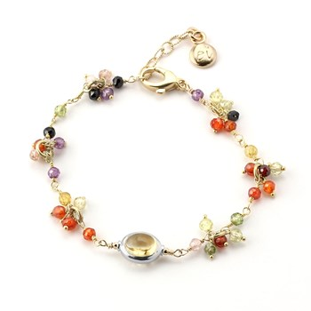 Multi-Color Citrine Bracelet-348511