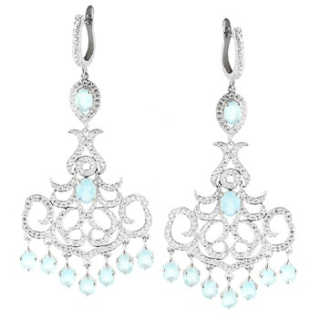 347210-Ocean Chalcedony Earrings