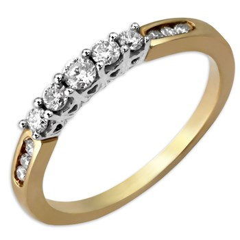Diamond & Gold Ring-339972