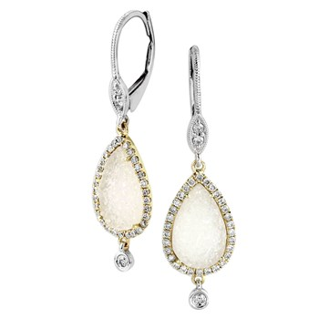 341848-Drusy & Diamond Earrings