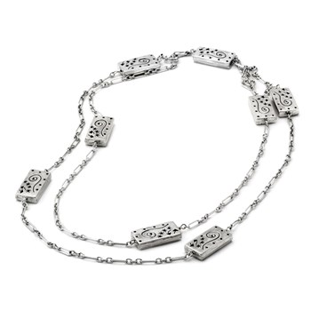 341130-Sterling Silver Necklace
