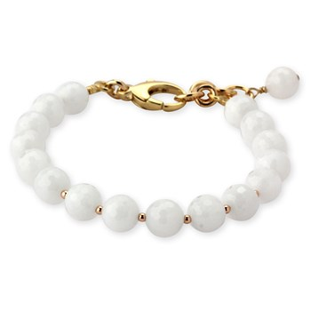 344888-Lollies White Quartzite Bracelet