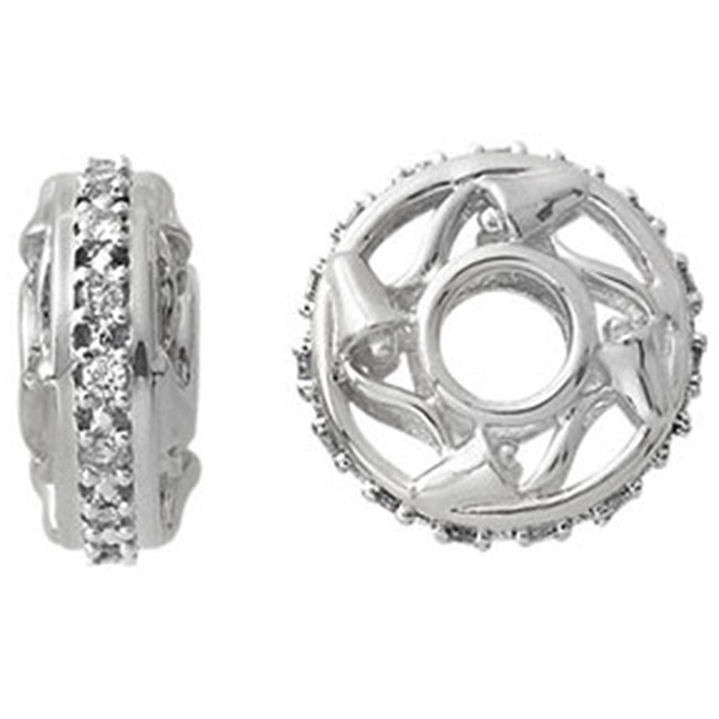 334350-Storywheels Diamond 15-Year Anniversary 14K White Gold Wheel