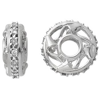 Storywheels Diamond 15-Year Anniversary 14K White Gold Wheel-334350