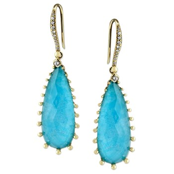 Turquoise Earrings-345577