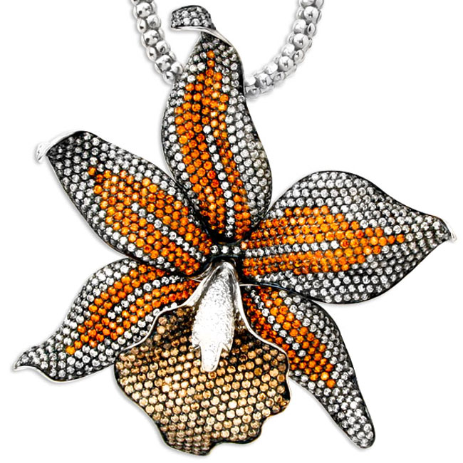 337863-Flower Bling Pendant ONLY 1 AVAILABLE