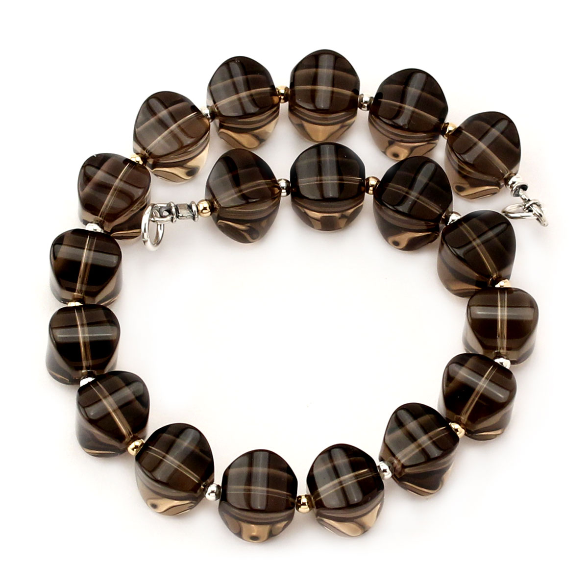 341387-Smokey Quartz Interchangeable Strand