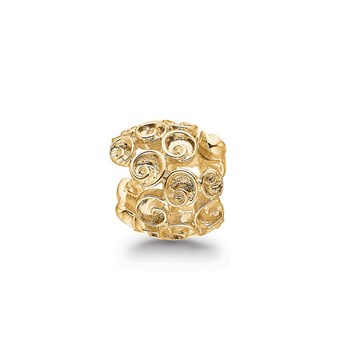 STORY by Kranz & Ziegler Gold-Plated Tiny Roses Spacer