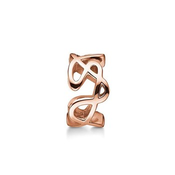 STORY by Kranz & Ziegler Rose-Plated Doodle Ring Spacer