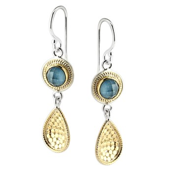 346971-Blue Quartz Drop Earrings