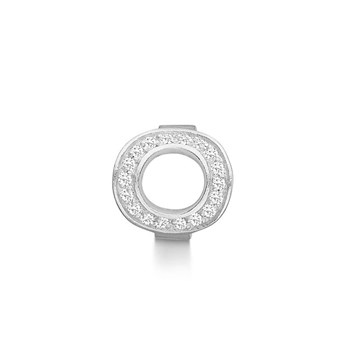 STORY by Kranz & Ziegler Sterling Silver Infinity Ring Button