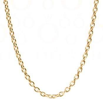 -PANDORA 14K Gold Stories Chain with clasp