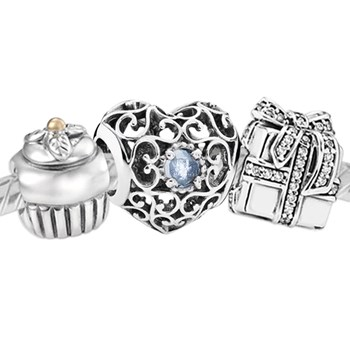 3380-PANDORA Happy March Birthday Set