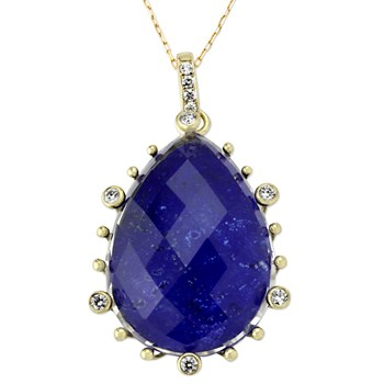 345463-Lapis Necklace