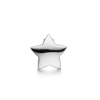 STORY by Kranz & Ziegler Sterling Silver Chubby Star Button