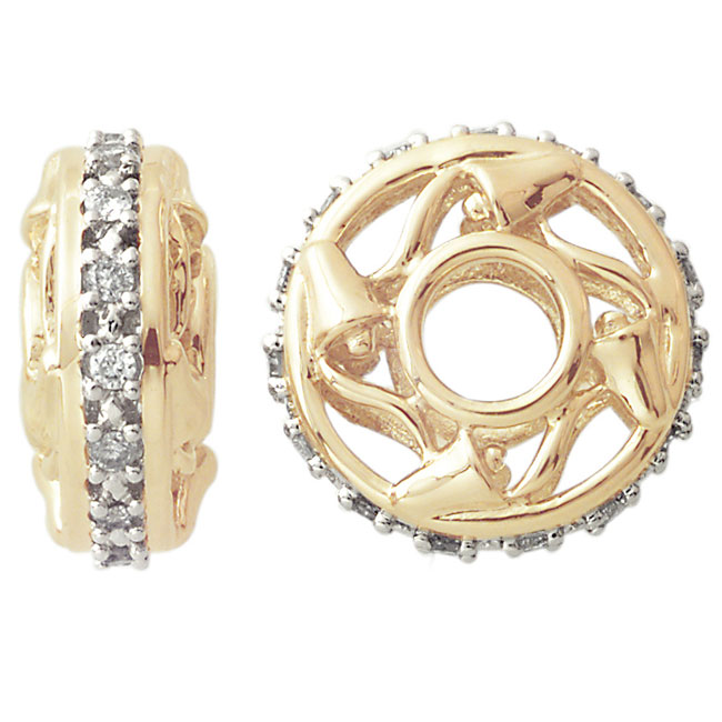 263108-Storywheels Diamond 15 Year Anniversary 14K Gold Wheel ONLY 1 AVAILABLE!