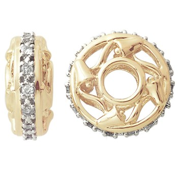 Storywheels Diamond 15 Year Anniversary 14K Gold Wheel ONLY 1 AVAILABLE!-263108
