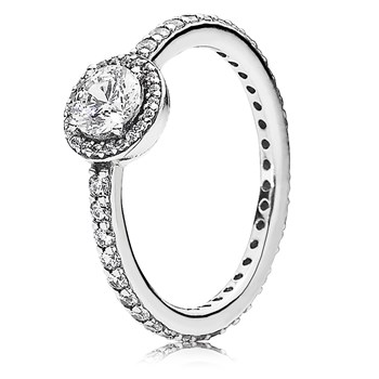PANDORA Classic Elegance with Clear CZ Ring