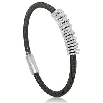 Black Rings Bling Bangle-344917