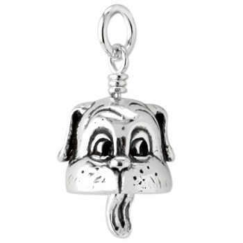 Mini Dog Bell Necklace 342656