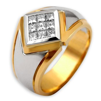 Men's Diamond Ring-200363