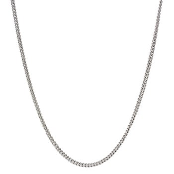 Curb 2mm Chain Necklace-600-563