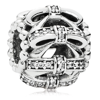 PANDORA Shimmering Sentiments with Clear CZ Charm 802-3141