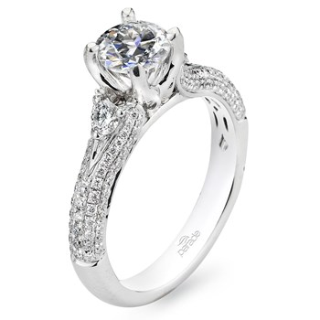 "Parade ""Hemera"" Semi-Mount Diamond Ring-348412"