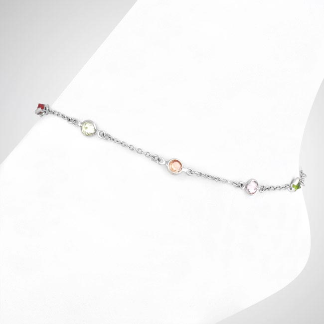276146-Multi-Colored Anklet