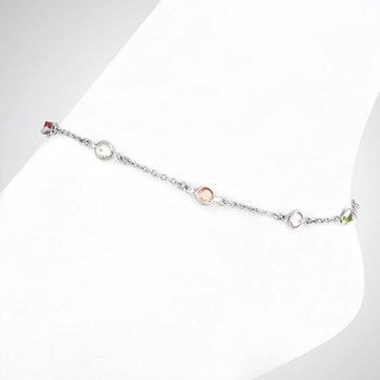 Multi-Colored Anklet-276146