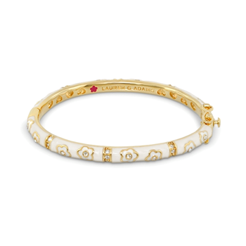 343761-Lauren G Adams Child's Stackable Bangle 'Flower Girl' Design ONLY 1 LEFT!