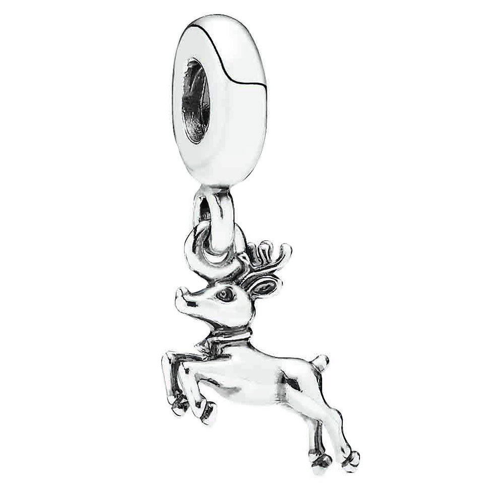 344353-PANDORA Reindeer Dangle