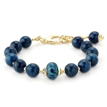 344507-Lollies Blue Quartz Bracelet