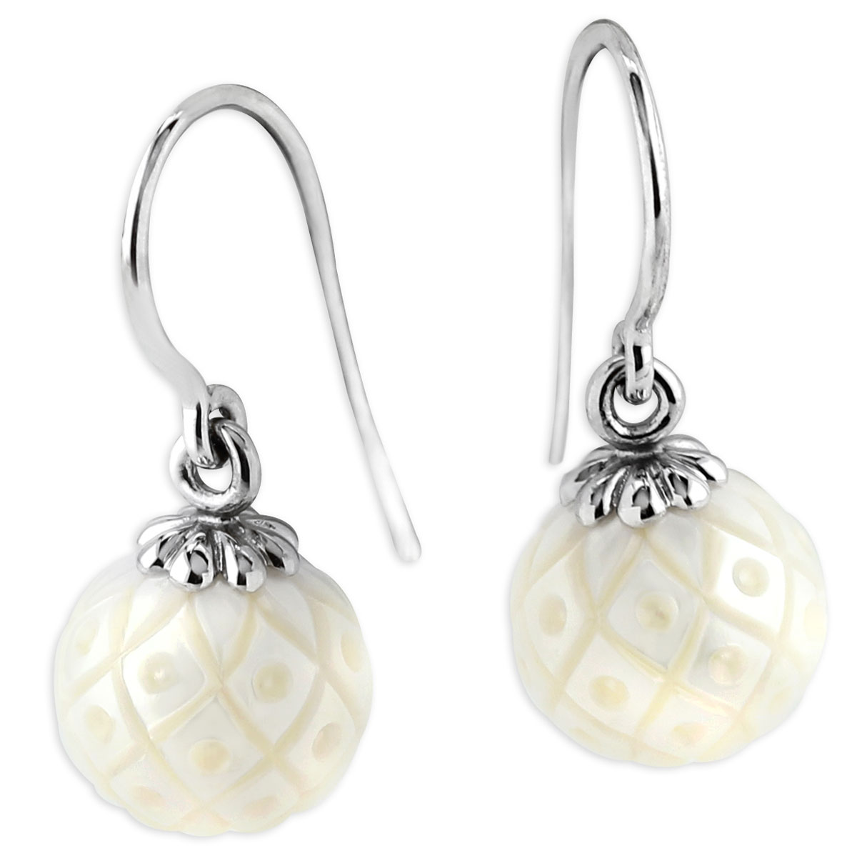 342104-Galatea Freshwater Pearl WG Earrings