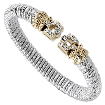 344941-Square Tip Diamond Bracelet