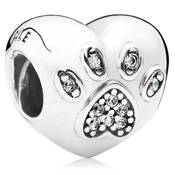 PANDORA I Love My Pet with Clear CZ Charm-802-3037