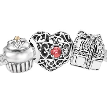 3378-PANDORA Happy January Birthday Set