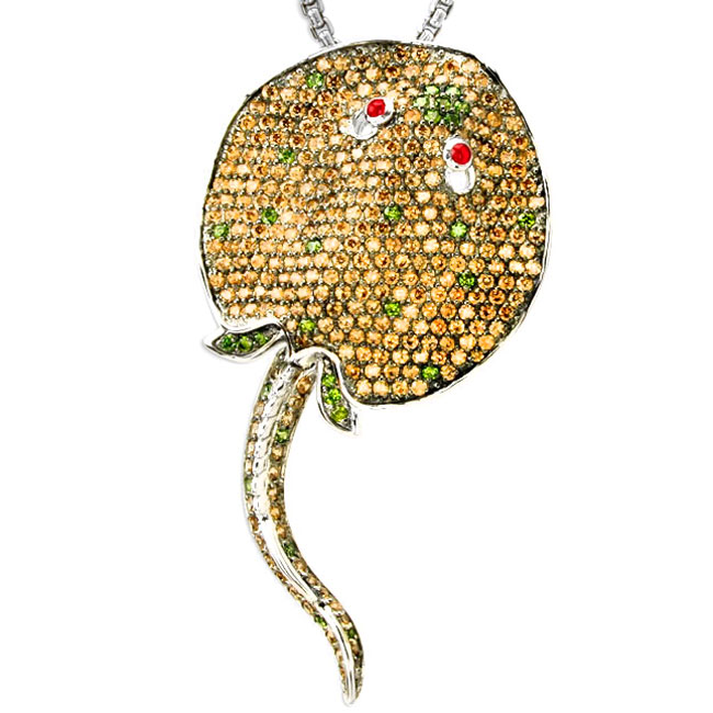 337859-Stingray Bling Pendant ONLY 1 AVAILABLE