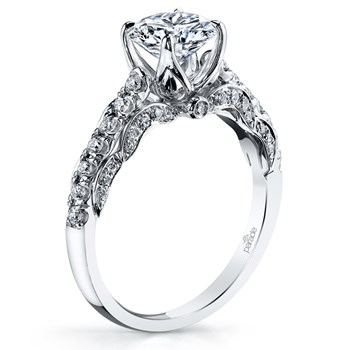 345269-Parade Vintage Design Diamond Ring